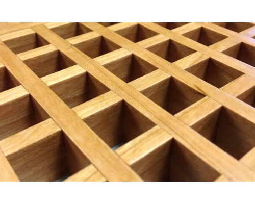 Egg Crate Self Rimming Cherry Floor Grate Vents