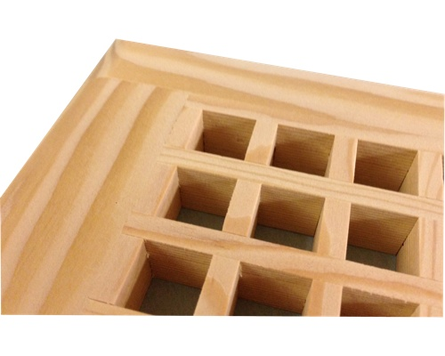 Egg Crate Self Rimming Fir Floor Grate Vents - Click Image to Close